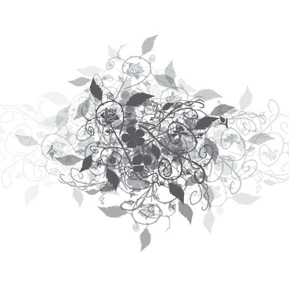 motif floral motif floral traditional ornate thai art. Black Bedroom Furniture Sets. Home Design Ideas